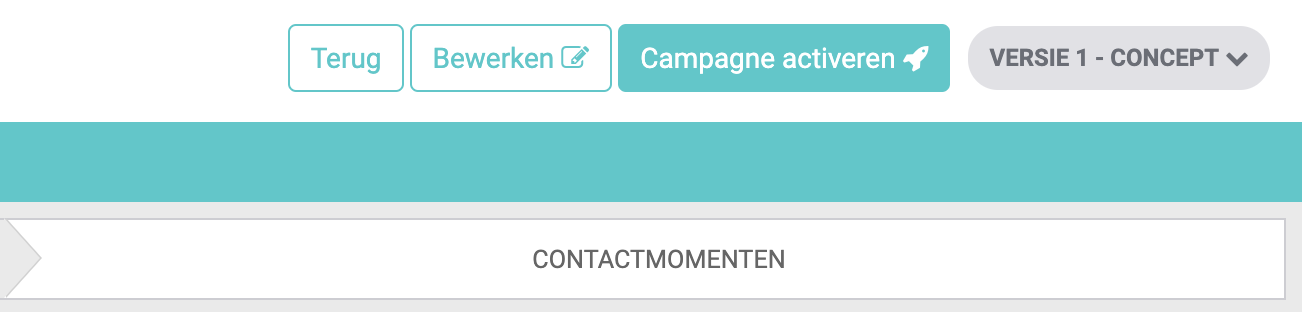 e-mail campagne activeren