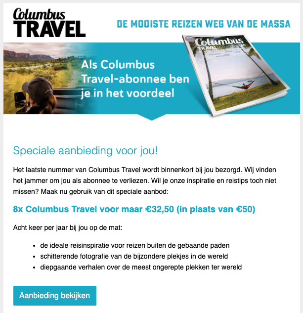 retentie marketing met e-mail