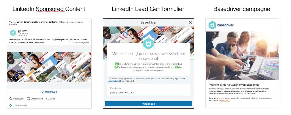 scale-up mailinglijst groeien via LinkedIn