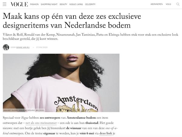 Mailinglijst groeien met winactie Vogue