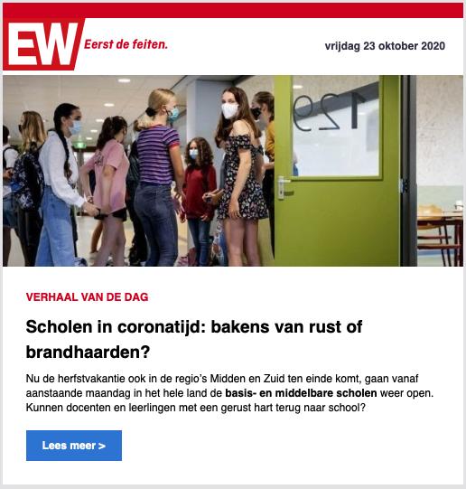 Voorbeeld nieuwsbrief Elsevier