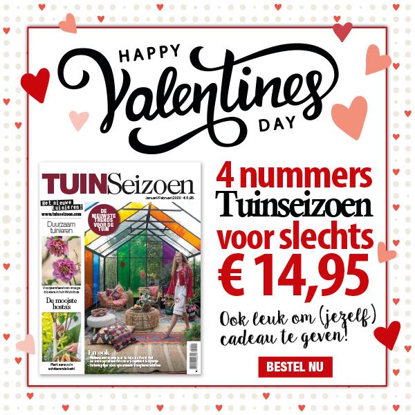 Valentijn mailing voorbeeld TUINSeizoen